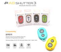 Universal Bluetooth Remote Shutter Camera Control Self-timer Wireless Bluetooth Remote Control for Apple iPhone Samsung Galaxy
