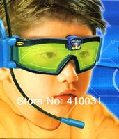 Two Way Radio Channel Kid Googles Walkie Talkie Sun Glasses Hand Free Headphone Eyeglasses Sunglasses Headset Microphone Goggles