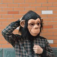 Funny mask orangutan latex caps all party mask a Halloween party