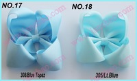free shipping 2014 Newests 50pcs 4'' fashion Boutique hair bows Girl ABC hair clips