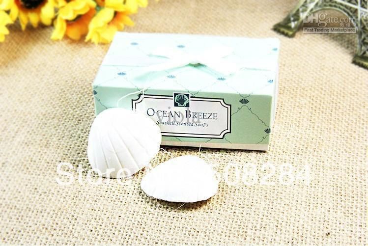 Wholesale - Free Shipping Creative Wedding Gifts Game Prizes Household Goods Blue Shell Fantasy Soap(China (Mainland))