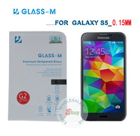 0.15MM S5 Screen Portector! Ultra Slim Glass-M Premium Tempered Glass Screen Protector Samsung Galaxy S5 With Retail Package!