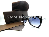 special frame sunglass of TF brand blue lense free shipping free original case high quality good price nice fast delivery