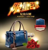 2014 New Fashion Ladies Leather Messenger Bags Vintage Leather Handbags Diagonal 0316A