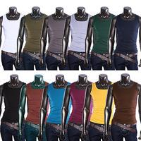 New 2014 Men Summer Casual Sport Gym Vest Bodybuilding And Fitness Singlet Undershirt Tank Top