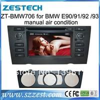 """ZESTECH car dvd 7"""" TV/3G/Dvd player/bluetooth/GPS/DVB car dvd player for BMW E90/91/92/93 car dvd"""