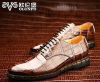 Spring and autumn fashion male casual shoes genuine leather commercial shoes casual shoes qdt1301