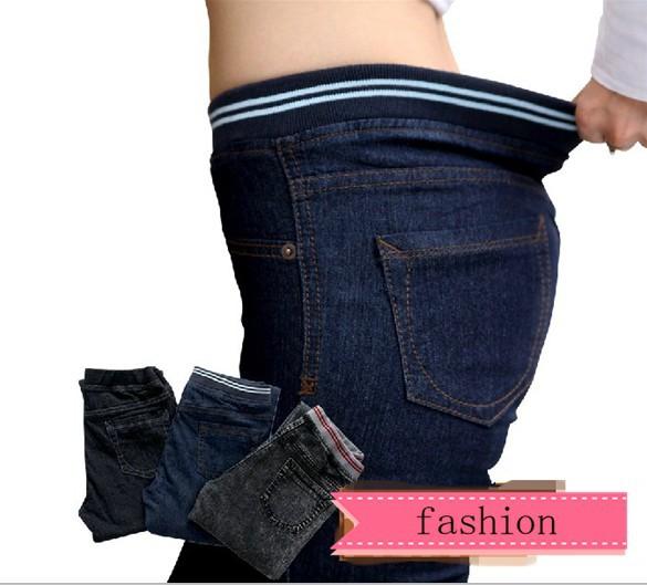 Женщины джинсы шесть крупнейший xl 114 см