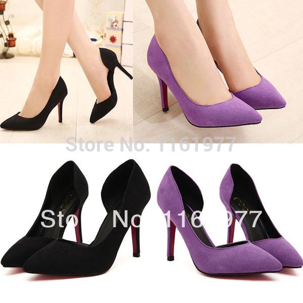 Royal Purple Dress Women Shoes