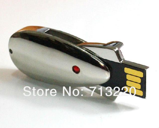 Genuine True Capacity! NO Upgrade! mouse Metal USB Drive 2GB 4GB 8GB 16GB 32GB Thumb Stick Memory Flash Pendrives(China (Mainland))