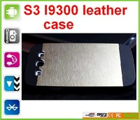 DHL shipping SG free shipping Galaxy S3 I9302 I9308 Protect case leather case