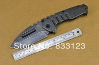 High Quality Medford Praetorian Stonewash Steel Handle 440 Blade Tactcal/Hunting folding knife,Outdoor multitool knife zc087