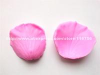 Free Shipping Petal Shaped Silicone Mold Cake Decoration Fondant Cake 3D Food Grade Silicone Mould 025