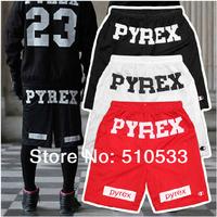2014 New ARTBOX R&B Hiphop Shorts 3 Colors PYREX VISION NO 23 Printed Loose Casual Shorts Drawstring Trousers FREE SHIP