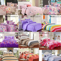 Home textile,Reactive Print 4Pcs bedding sets luxury include Duvet Cover Bed sheet Pillowcase,King Queen Full size,Free shipping