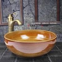 Jingdezhen ceramic wash basin wash basin counter basin