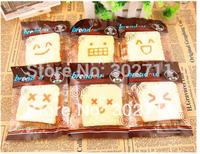 12pcs/Lot, With original pacakge, breadou sliced toast Squishy Wrist Pad