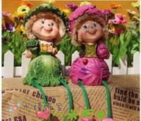 Large fruit doll resin decoration derlook birthday gift crafts home decoration