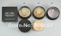 3Piece New arrival Loose powder PREP+PRIME   brand makeup  makeup face powder  +powder puffs 9g Free shipping