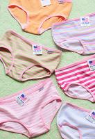 Brief symphony stripe cotton panties briefs