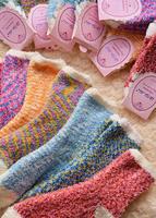 Brief double high quality socks ice cream thermal sock cotton socks
