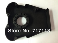 Black plastic rapid prototyping with mat paint,Customized design sample order  ,MOQ 1pc