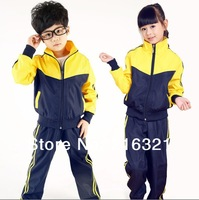 Package the postage in the spring of 2014 sport suit clothing set tracksuits clothes