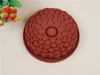 1PC silicone mold   flower type bakeware cake mold silicone form party decoration form for baking