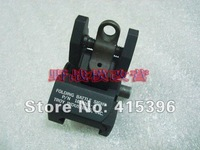 Troy Rear Folding Battle sight M4 Style(Black)-Free shipping