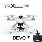 Walkera QR X350 Pro FPV GPS RC Quadcopter DEVO 7 3 RTF Hobby Drone Helicopter(China (Mainland))