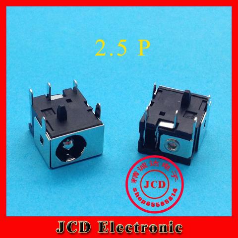 Mini power jack for ASUS lenovo acer 2.5MM Free shipping wholesale laptop cable fan hinge dc jack usb jack(China (Mainland))