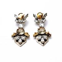 2014 Vintage Crystal Stud Earring Design Earrings Fashion Earring Women Earring Free Shipping (Min Order $20 Can Mix)