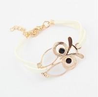Korean retro all-match OWL Bracelet!#1546
