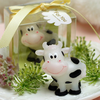 [1 pc] creative birthday candles cow animal small candle child birthday party supplies soy wax baby birthday candle