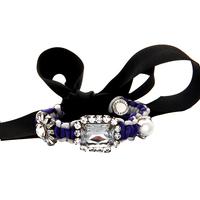 Shourouk style bangle & bracelet  vintage 2014 Crystal Cuff  rope tie shourouk Bracelet fashion for women Factory Price