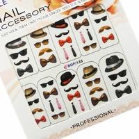 Saint nail art applique water print cartoon finger decoration series