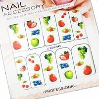 Saint nail art supplies watermark stickers applique multicolour nail art eco-friendly b series 24