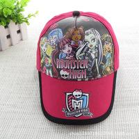 Retail Monster Hight Original Caps Baseball Caps Kids Baby Hats Sports Sunny Caps Children Snapback Hats Free Shipping DA131