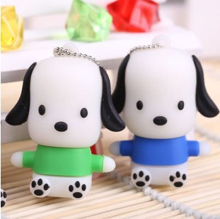 New Style Catoon Cute Dogs USB Flash drive Wholesale Hot sale Genuine 2-32GB Usb 2.0 Memory Flash Stick Pen Drive LU435(China (Mainland))