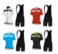 7 colors Hot Sale ! 2014 CASTELLI Outdoor Bike Cycling Jersey and bicicleta bib Shorts Ciclismo Clothing MTB Sportswear SZ01