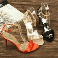 2014 rhinestone sandals women's shoes high-heeled shoes female women's summer shoes women's high-heeled shoes high-heeled