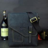 New Arrival 2014 Brand Designer Fashion Casual Men Genuine Leather Messenger Bag Men's Vintage Shoulder Bags