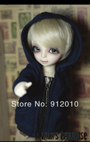 Handsome Blue Jacket with Hood  for 1/6 YOSD BJD Doll Super Dollfie Clothes