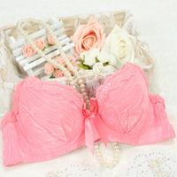 summer dress Push up cotton bra bow adjustment corrective underwear women lace bras for women plus size japanese