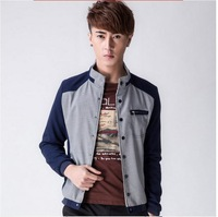 FREE SHIPPING  New Arrival Men's Fashion Casual spring Jacket Cotton Coat  Men's Jacket 80