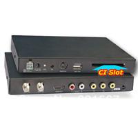 Factory price Car DVB T Digital MPEG4, H.264, 2 tuner 250km/h  car HD  TV CI CAM CA for conax viaccess irdeto