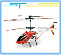 Supernova Sales Free shipping GYRO 3CH RC Helicopter X107 Metal Frame with Colorful Led Lights USB Cable Tail balde wholesales