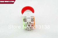 Y090,LAY7,Y090-11ZS MUSHROOM push button red  22mm