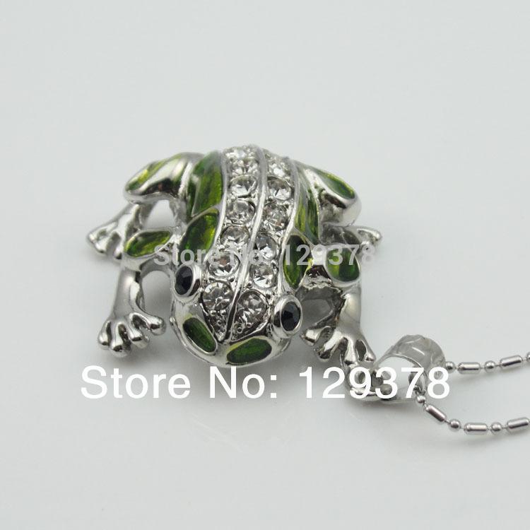 Metal Frog Sharpe USB Flash Drive 1G 2G 4G 8G 16G 32G Gift Pendrive(China (Mainland))