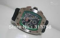 Luxury Mens Sapphire Rm011 Felipe Massa Flyback Mechanical sport date watch mens watches wristwatch Men's Sports Wrist Watches